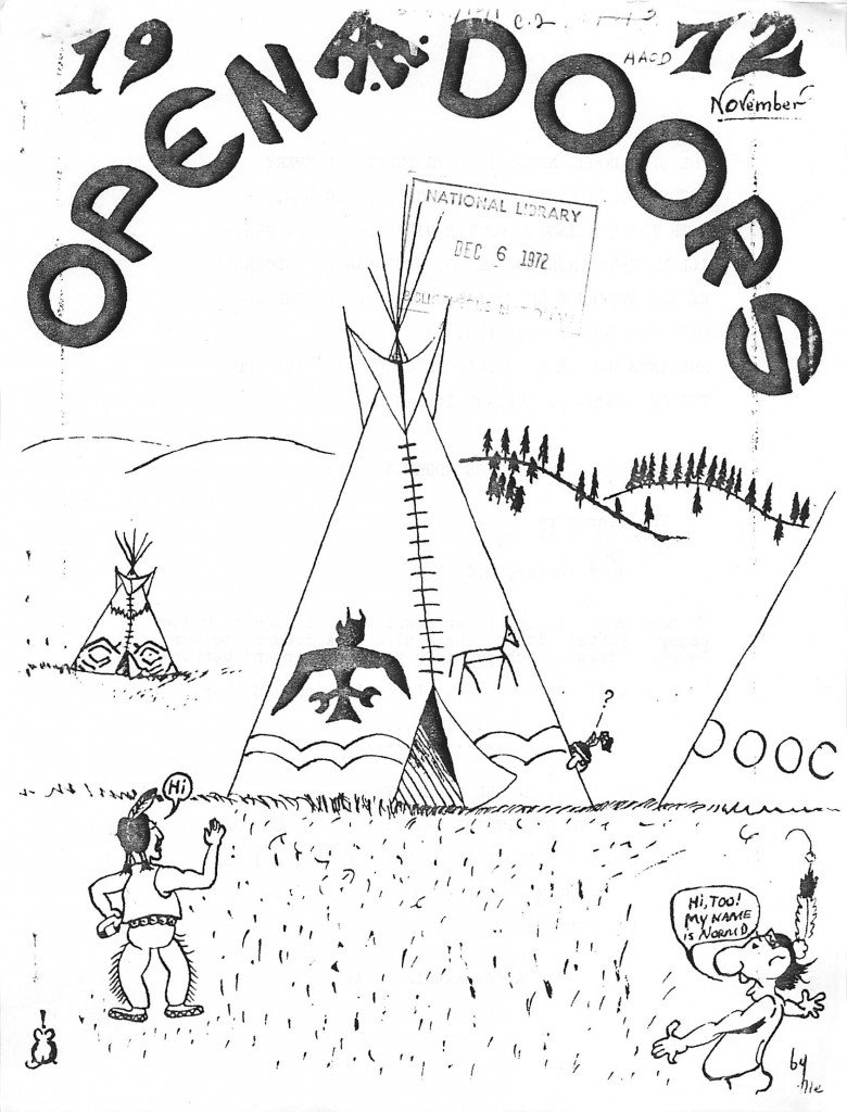 Read more about the article Open Doors – November 1972