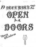 Read more about the article Open Doors – December 1972