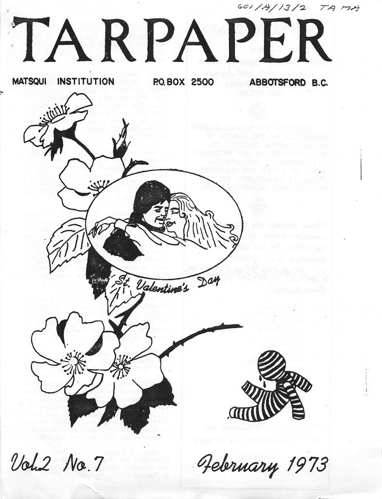 Read more about the article Tarpaper – February 1973