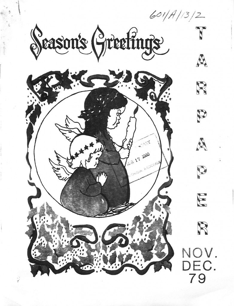 Read more about the article Tarpaper – Nov/Dec 1979