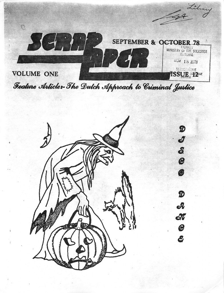 Read more about the article Tar Paper – September/October 1978