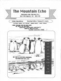 Read more about the article The Mountain Echo – November 1990