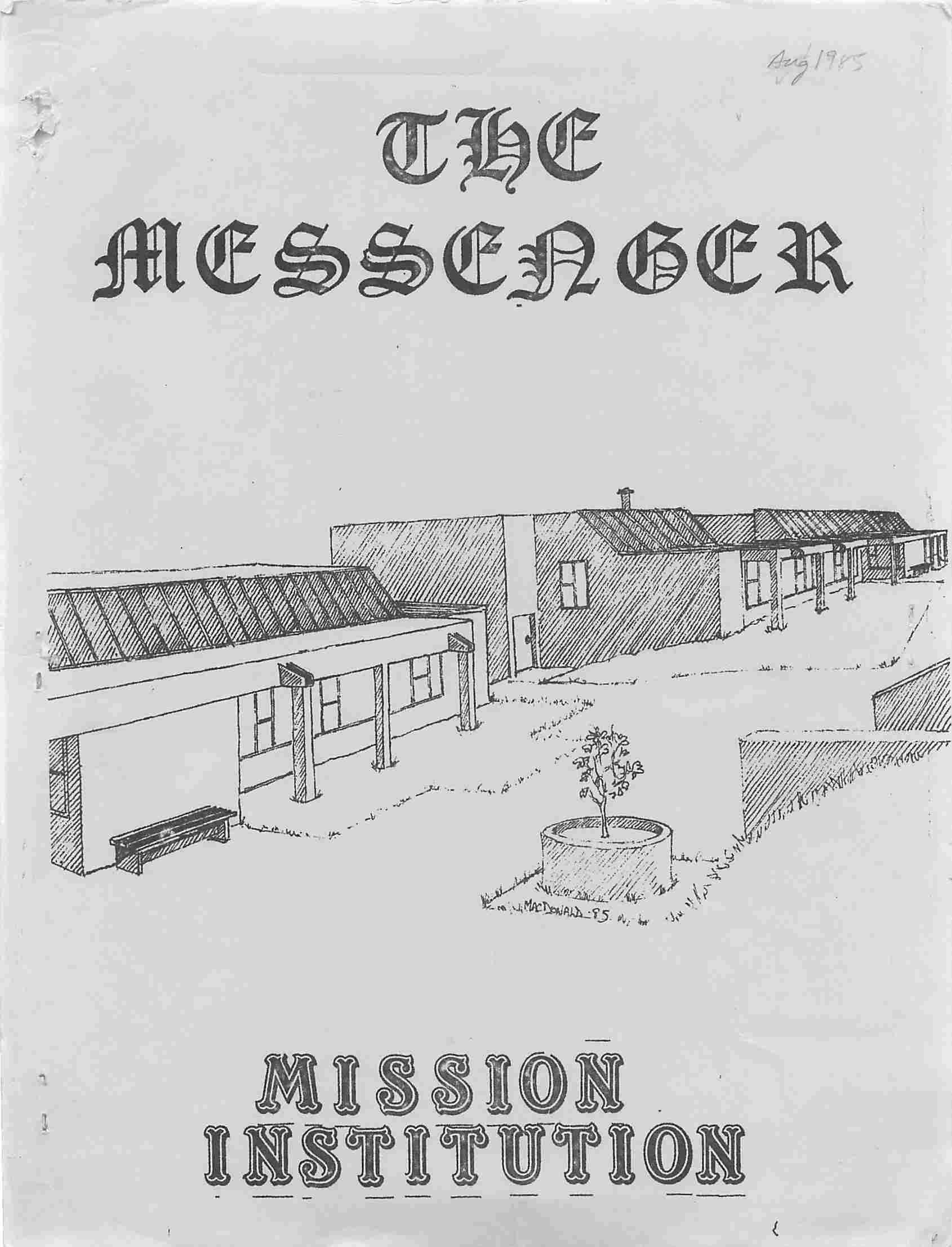 Read more about the article The Messenger – August 1985