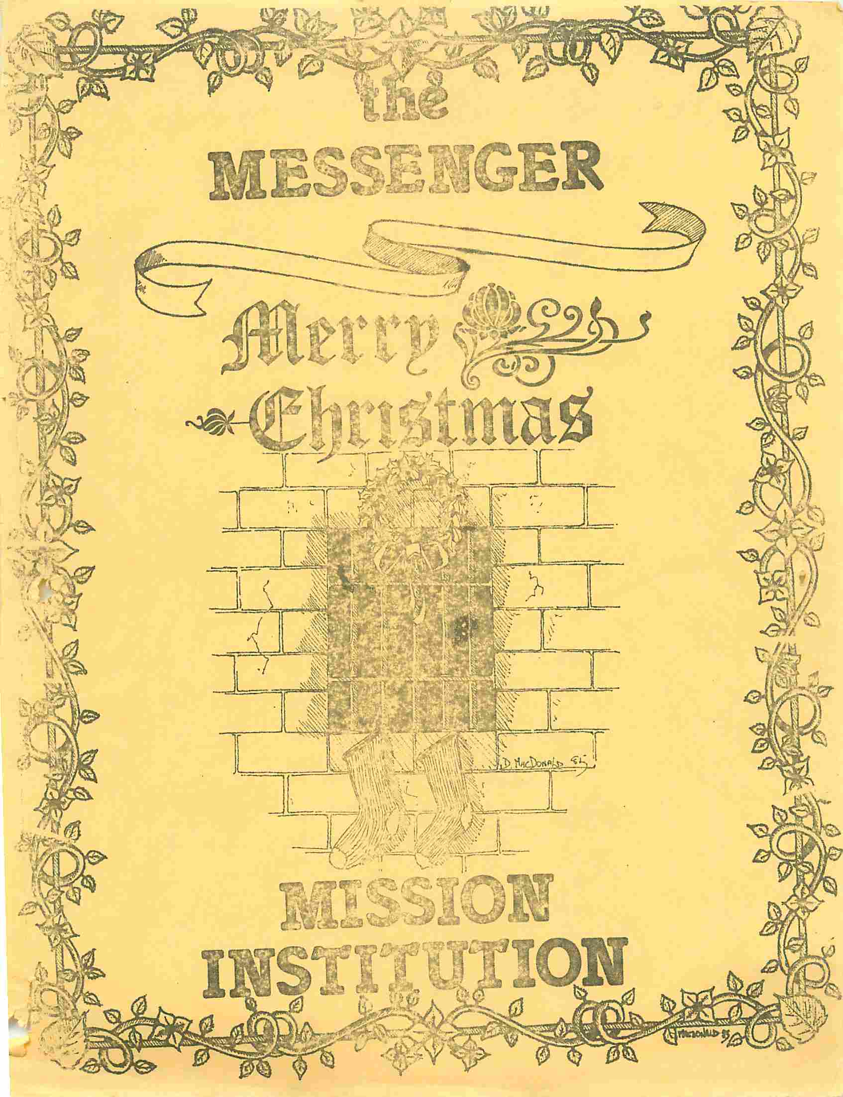 Read more about the article The Messenger – December 1985