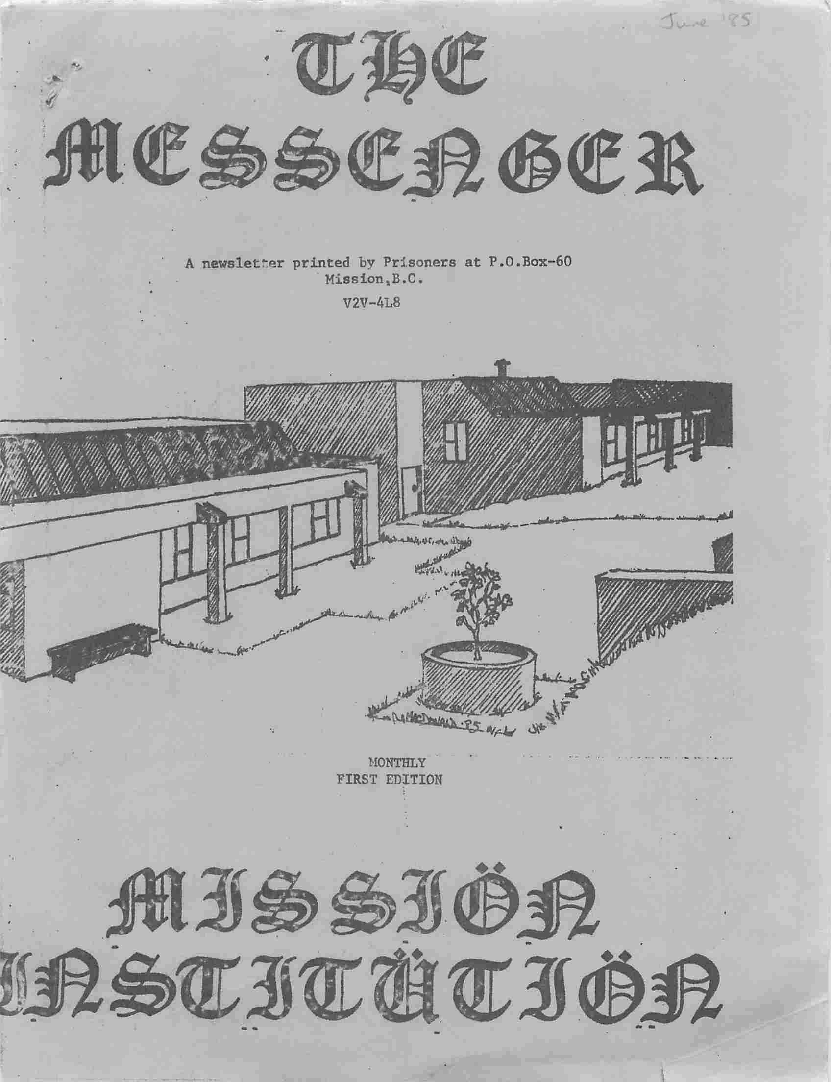 Read more about the article The Messenger – June 1985