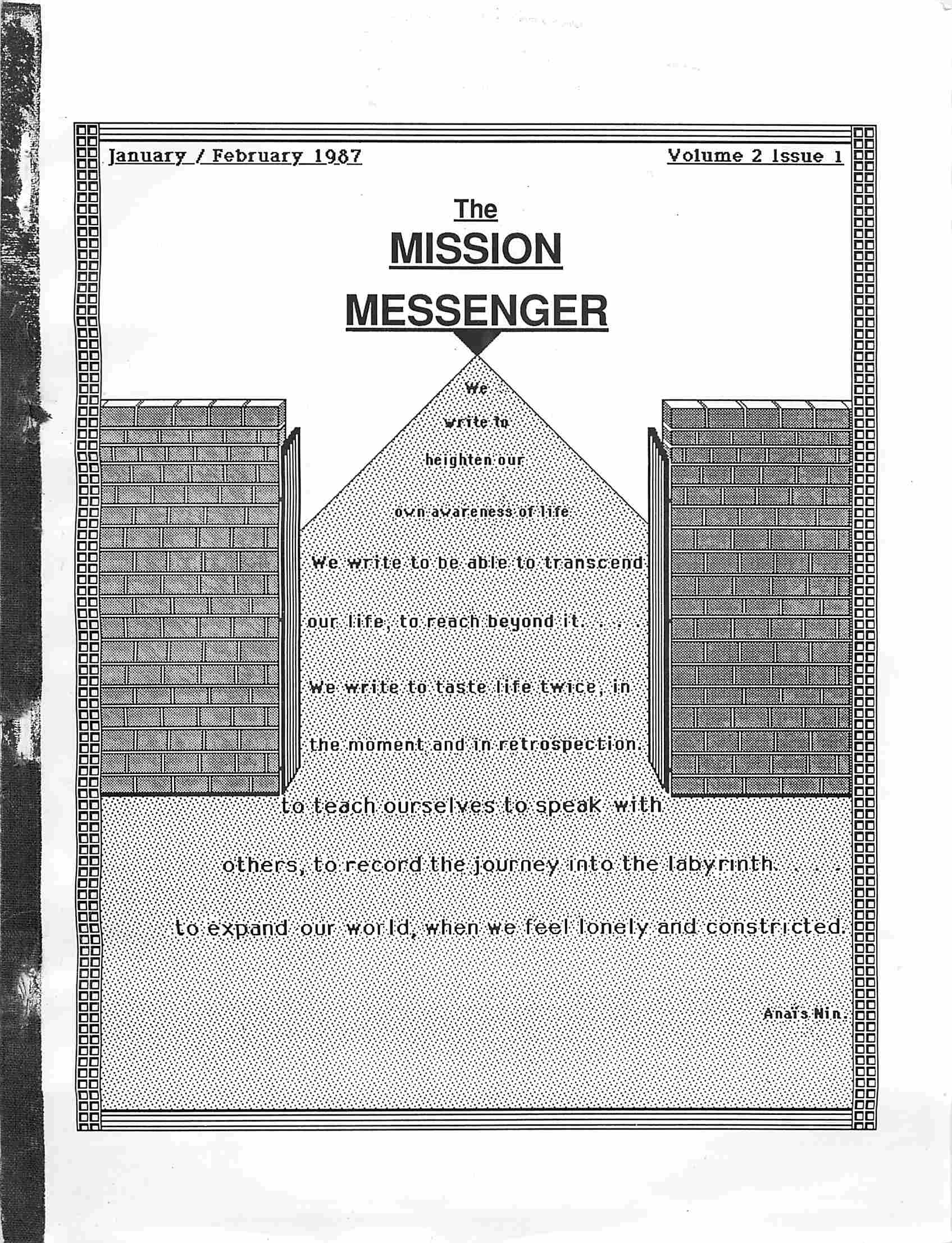 Read more about the article The Mission Messenger