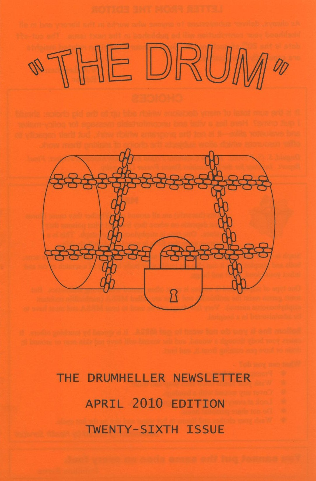 Read more about the article The Drum – issue 26