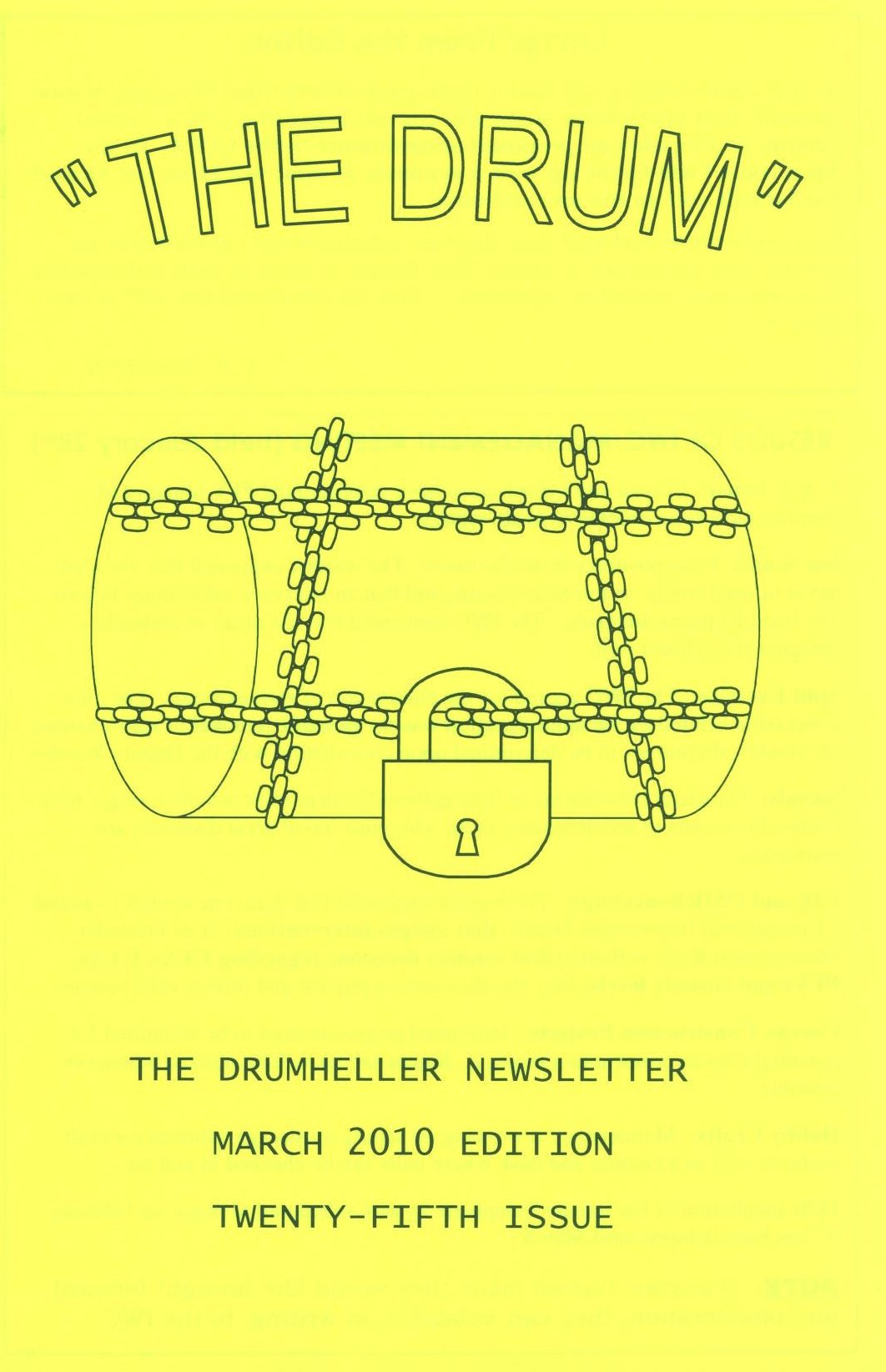 Read more about the article The Drum – issue 25