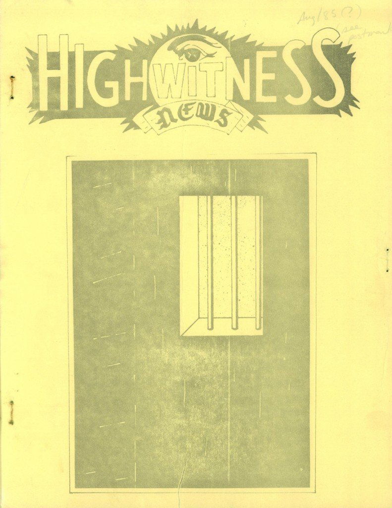 Read more about the article Highwitness News – August 1985