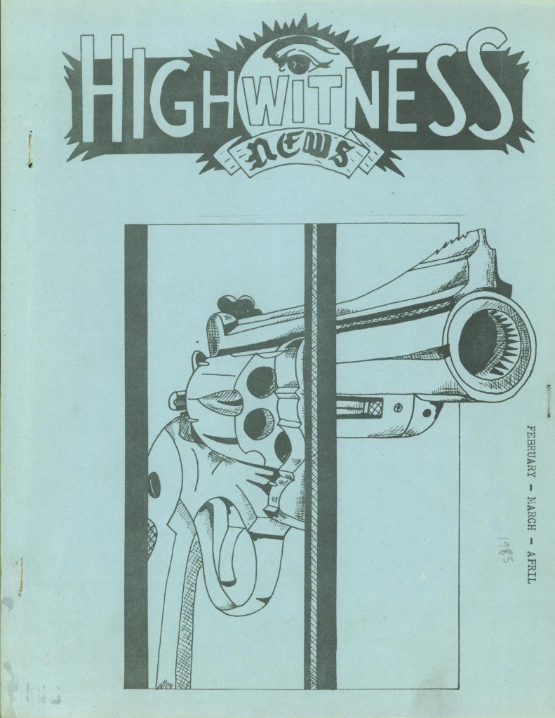 Read more about the article Highwitness News – Feb/Mar/Apr 1985