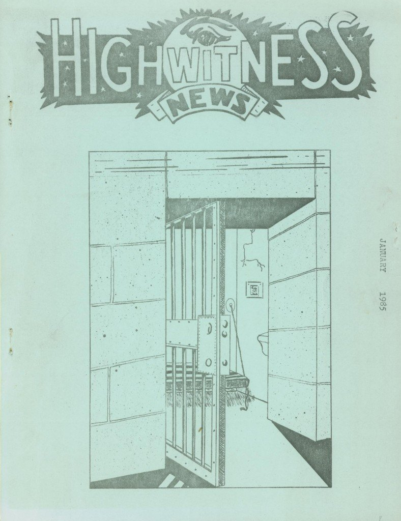 Read more about the article Highwitness News – January 1985
