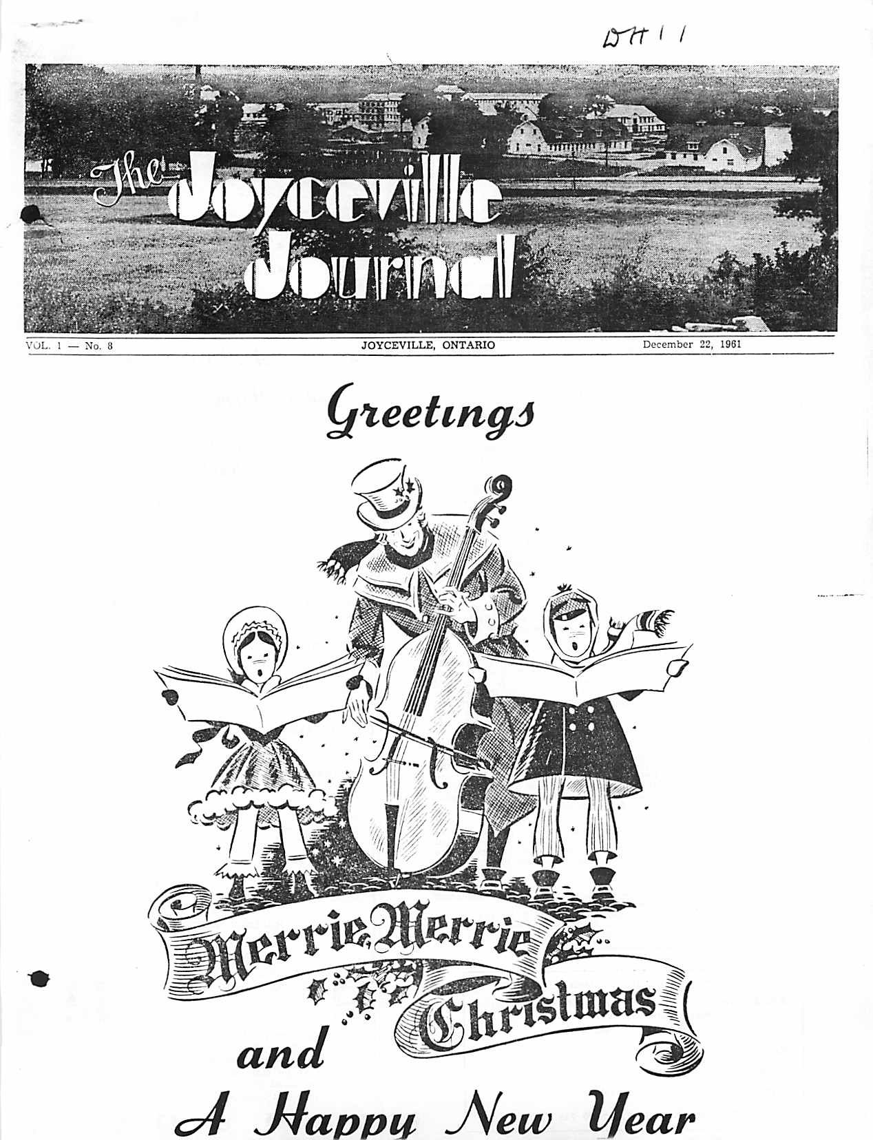 Read more about the article Joyceville Journal v1(8)