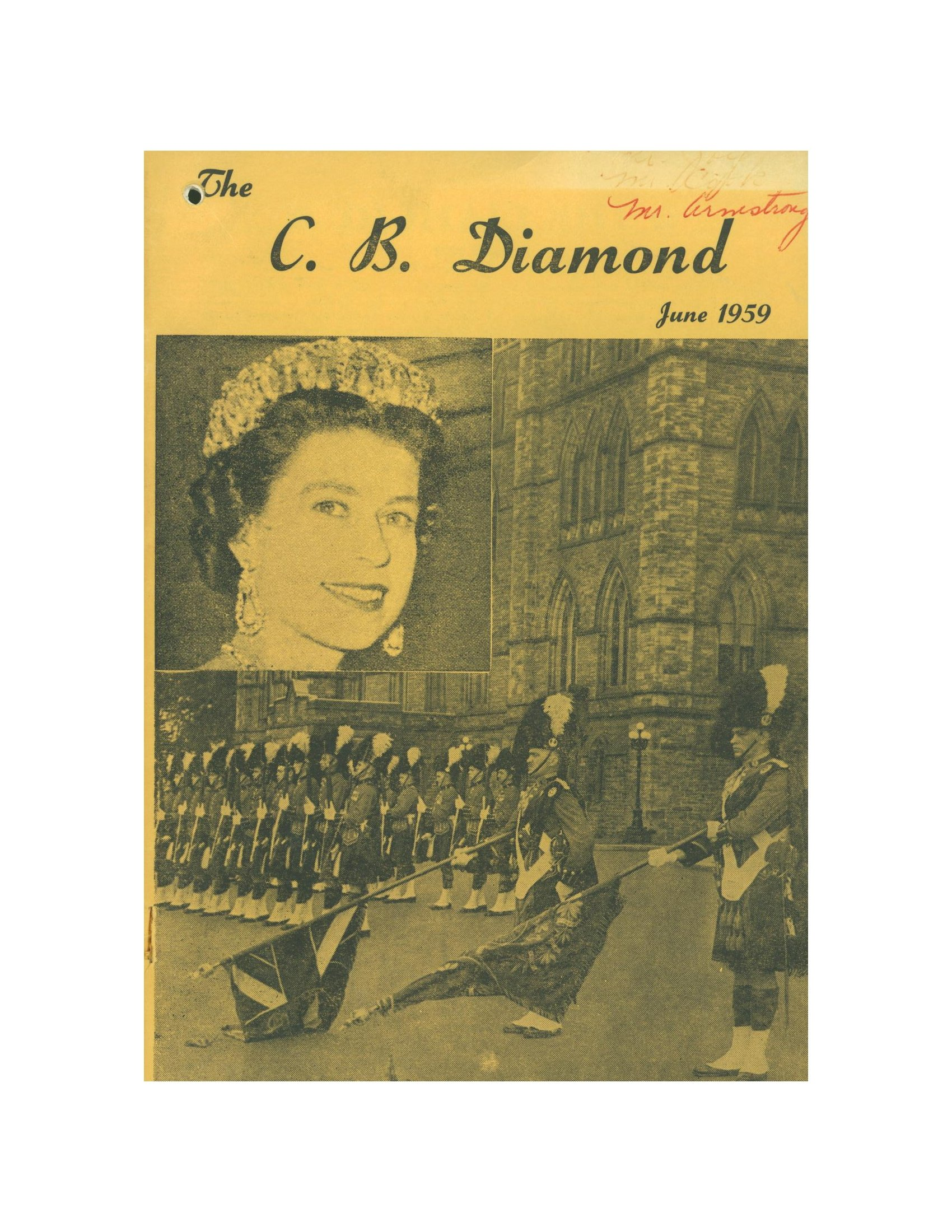 Read more about the article C.B. Diamond – June 1959