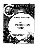 Read more about the article The Mountain Echo – December 1990