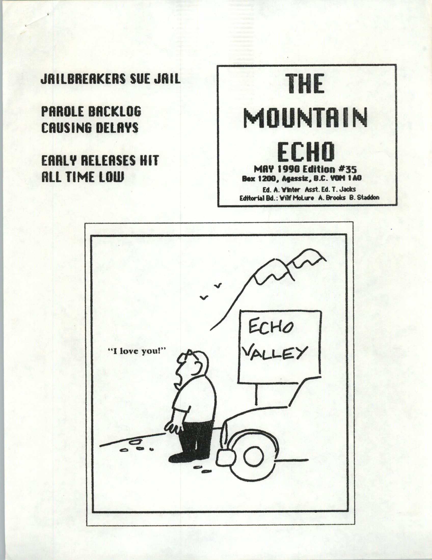 Read more about the article The Mountain Echo – May 1990