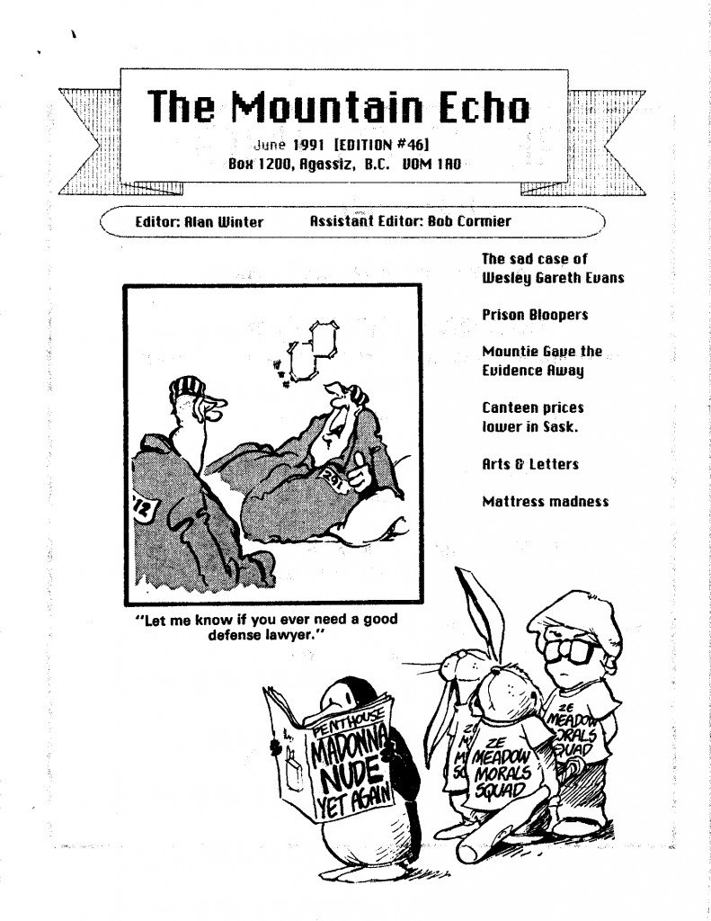 Read more about the article The Mountain Echo – June 1991