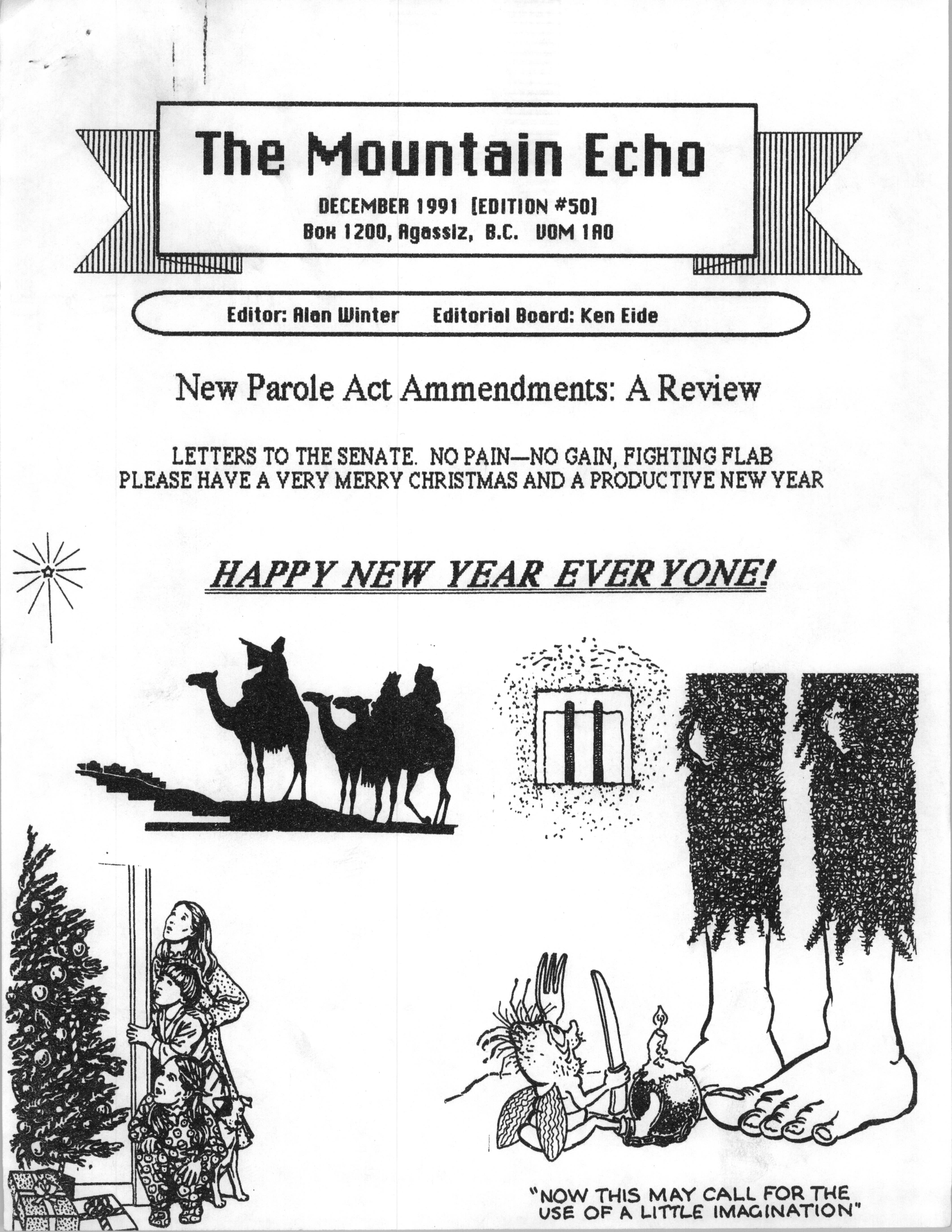 Read more about the article The Mountain Echo – December 1991
