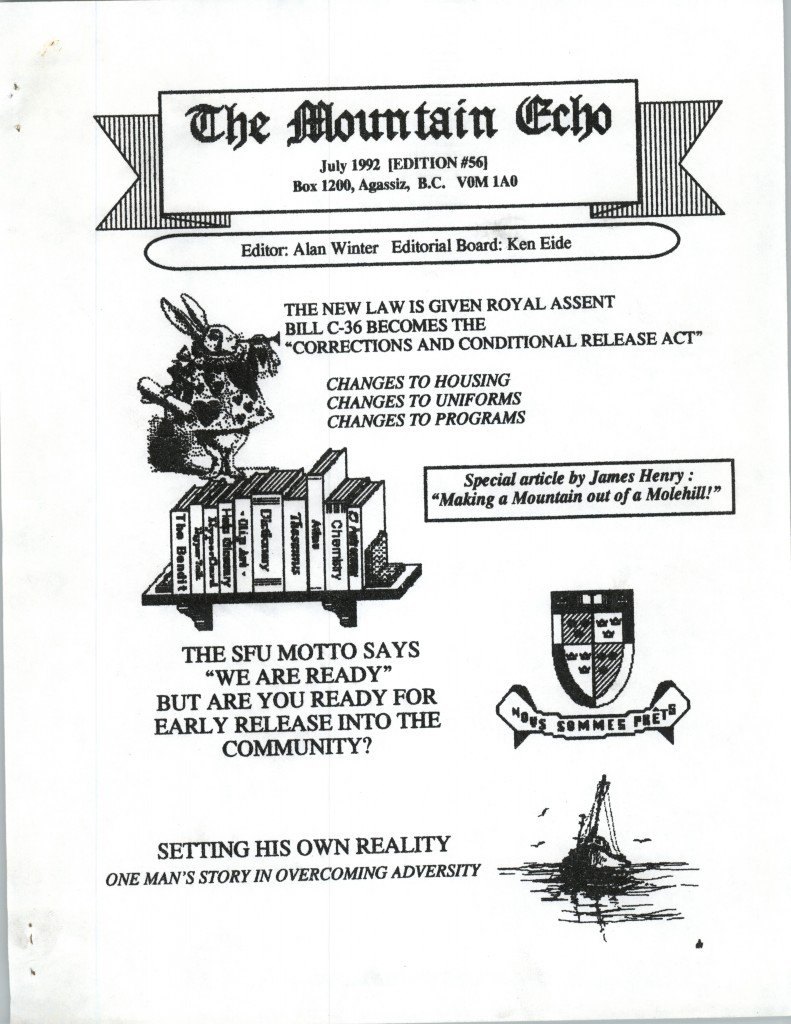 Read more about the article The Mountain Echo – July 1992