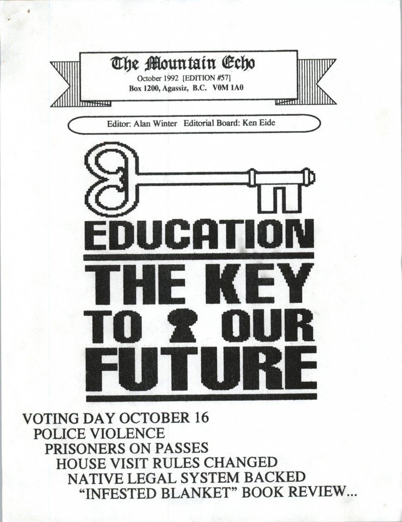 Read more about the article The Mountain Echo – October 1992