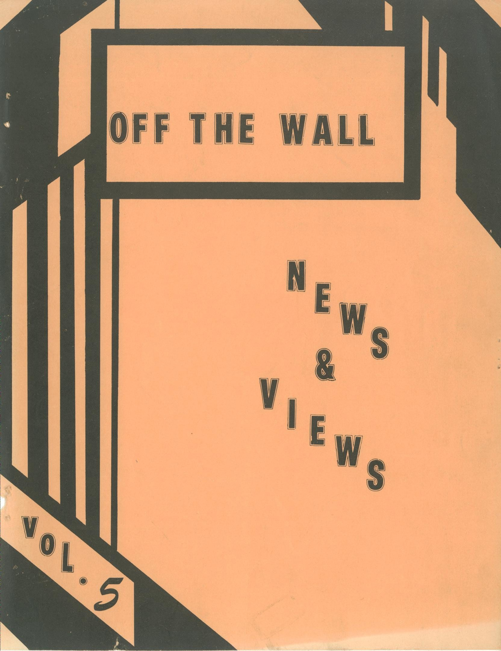 Read more about the article Off the Wall – February 1976