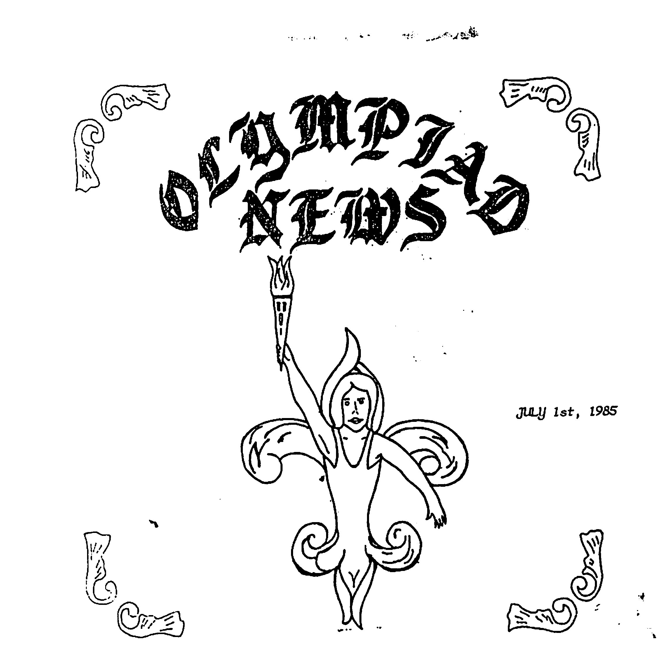 Read more about the article Olympiad News – July 1985