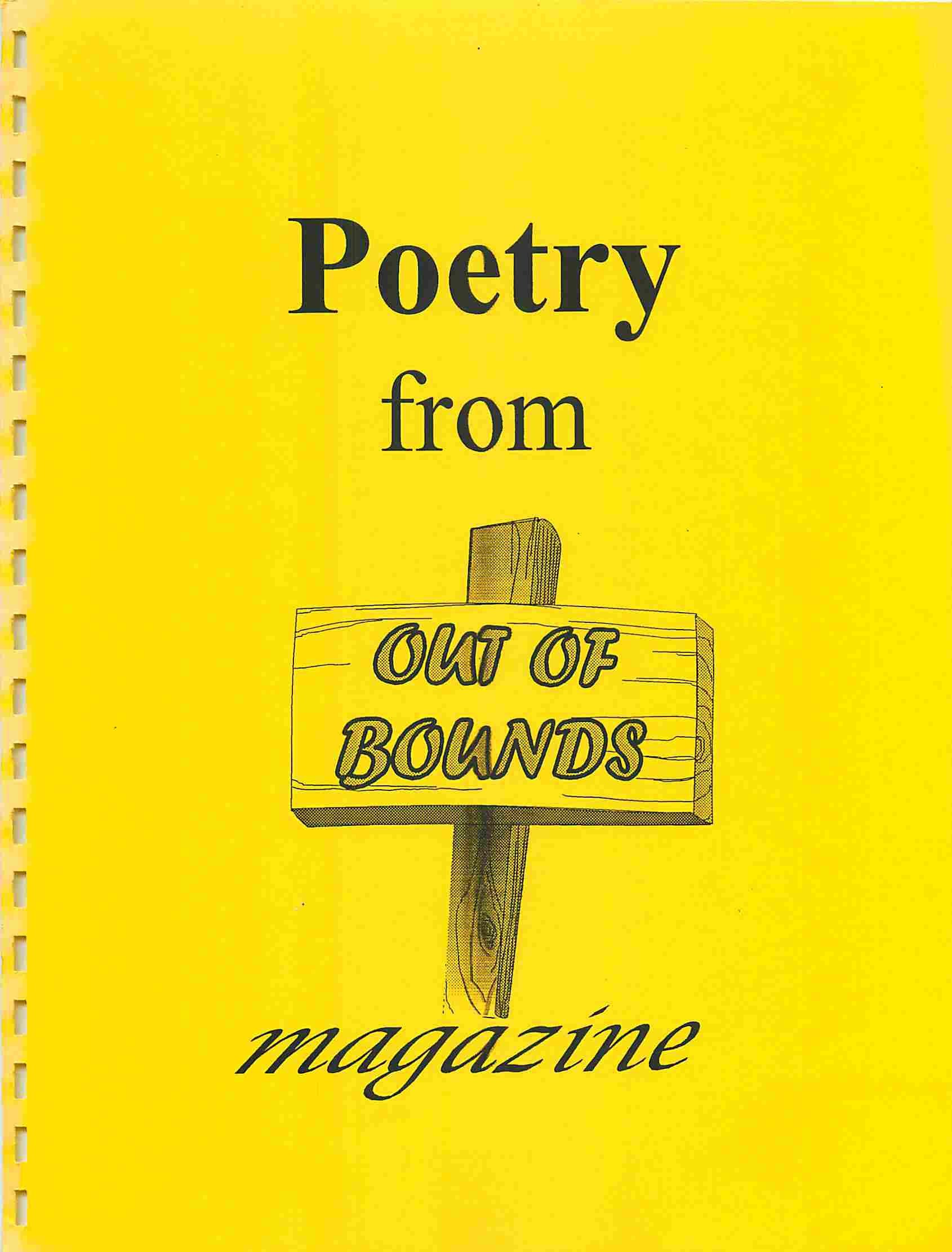 Read more about the article Out of Bounds – Poetry Issue 1997