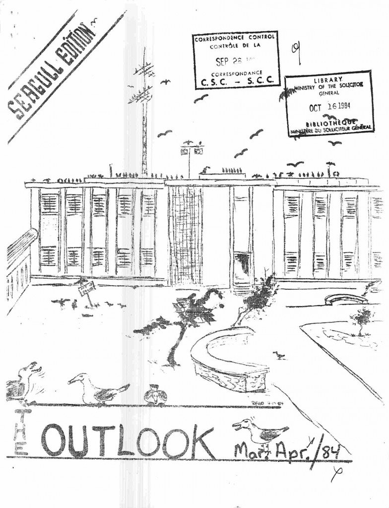 Read more about the article The Outlook – March/April 1984