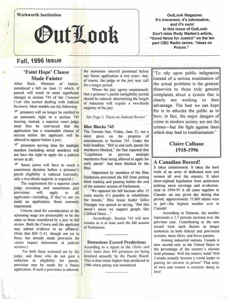 Read more about the article Outlook – Fall 1996