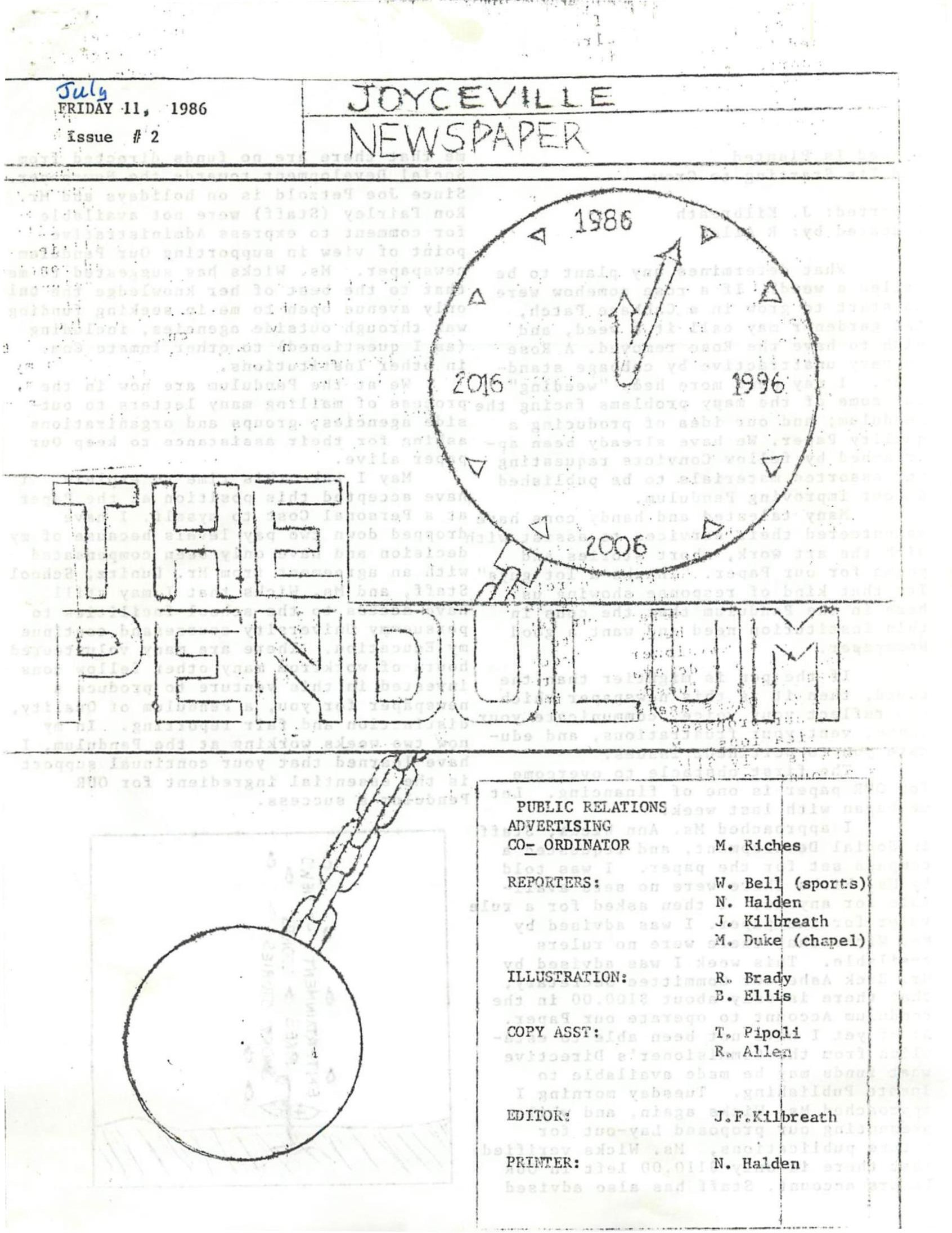 Read more about the article Pendulum