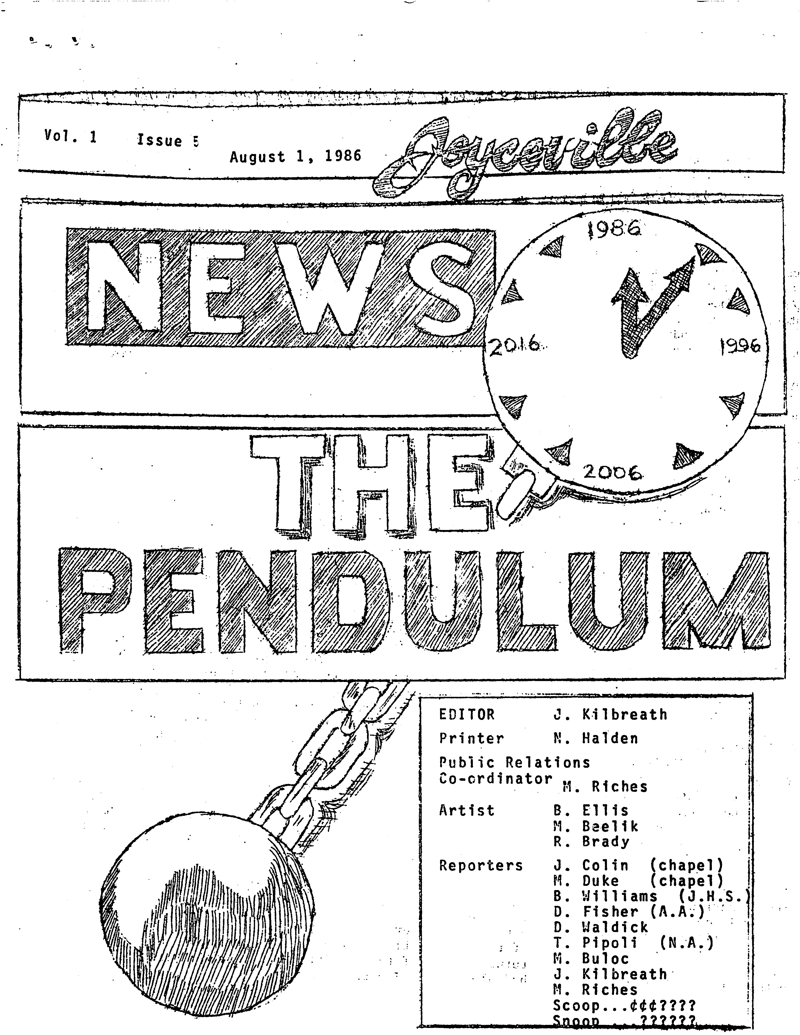 Read more about the article Pendulum – 1986