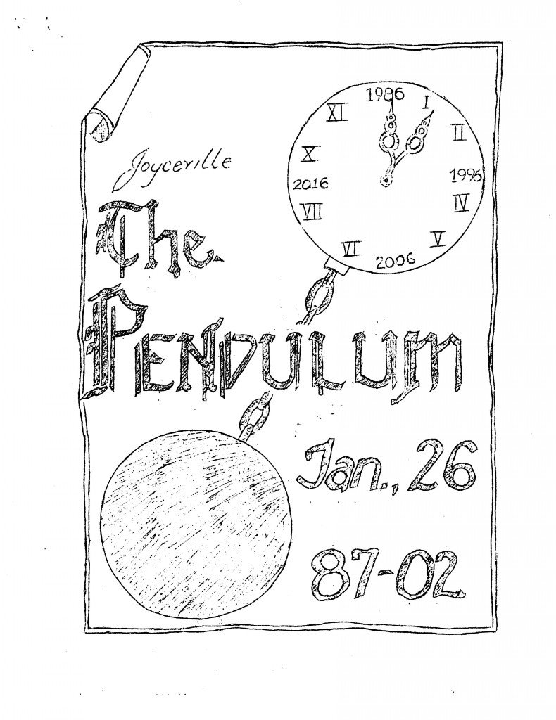 Read more about the article Pendulum – January 1987