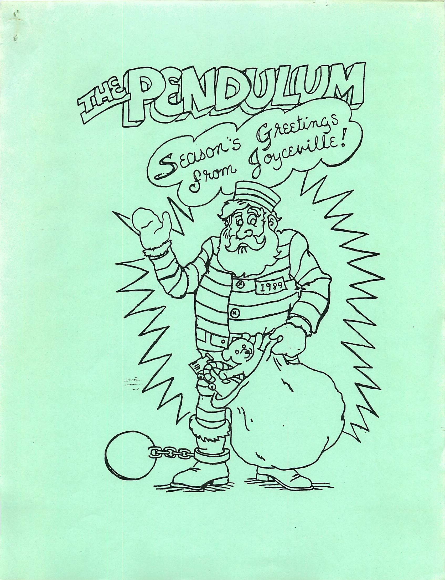 Read more about the article Pendulum – December 1989