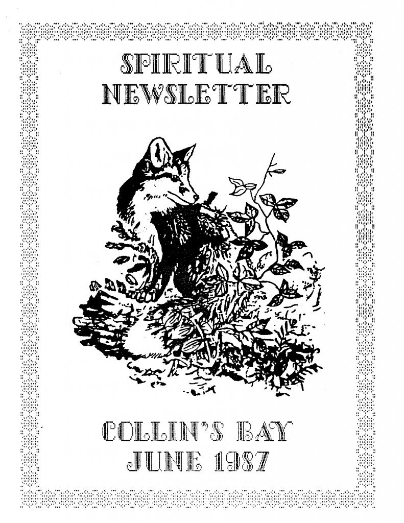 Read more about the article Spiritual Newsletter – June 1987