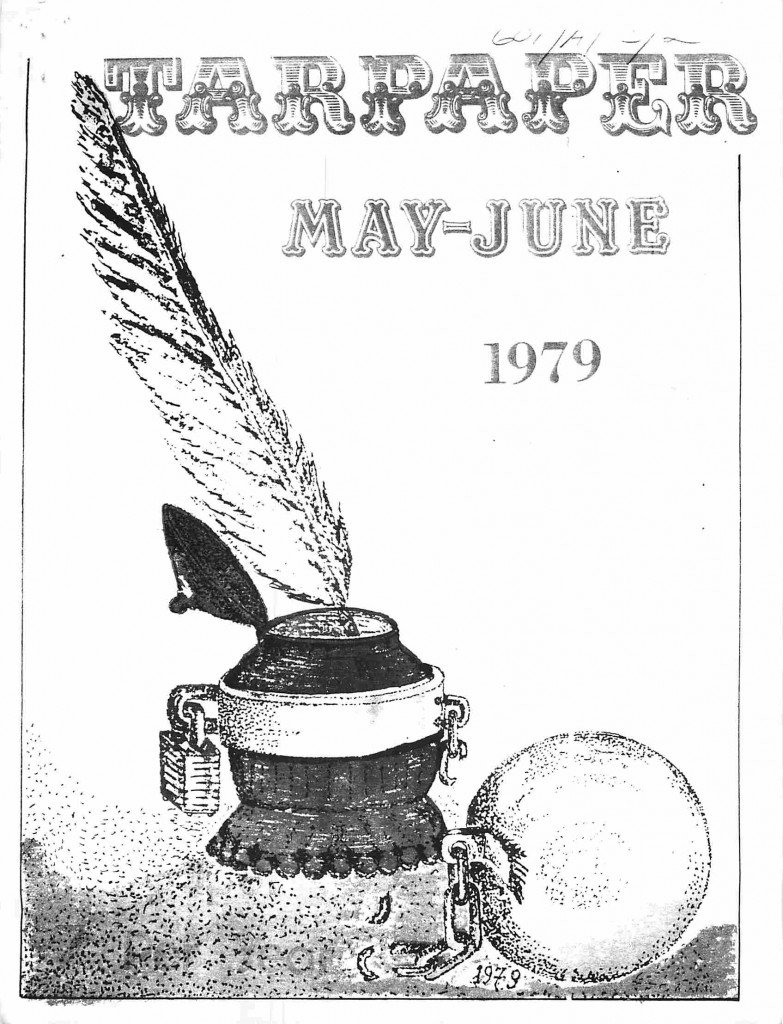 Read more about the article Tarpaper – May/June 1979