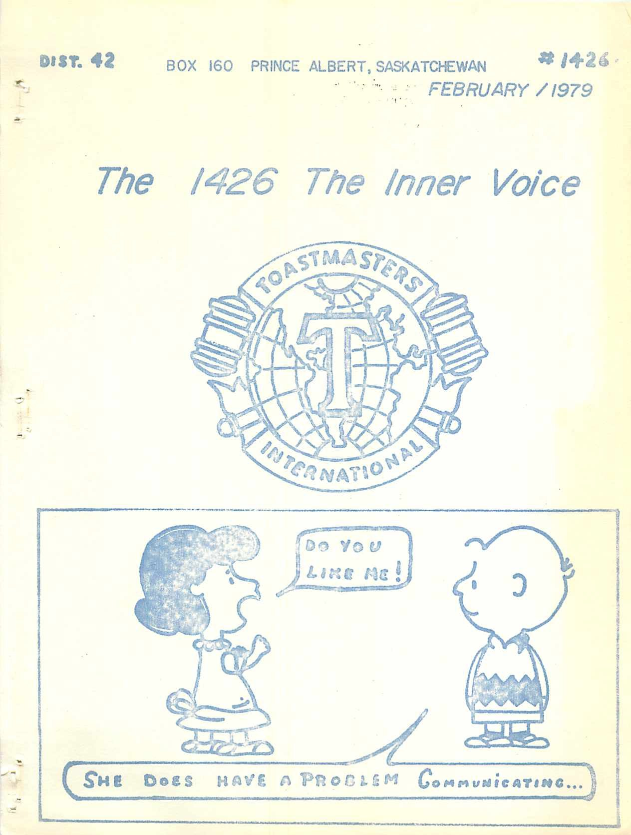 Read more about the article The Inner Voice – February 1979