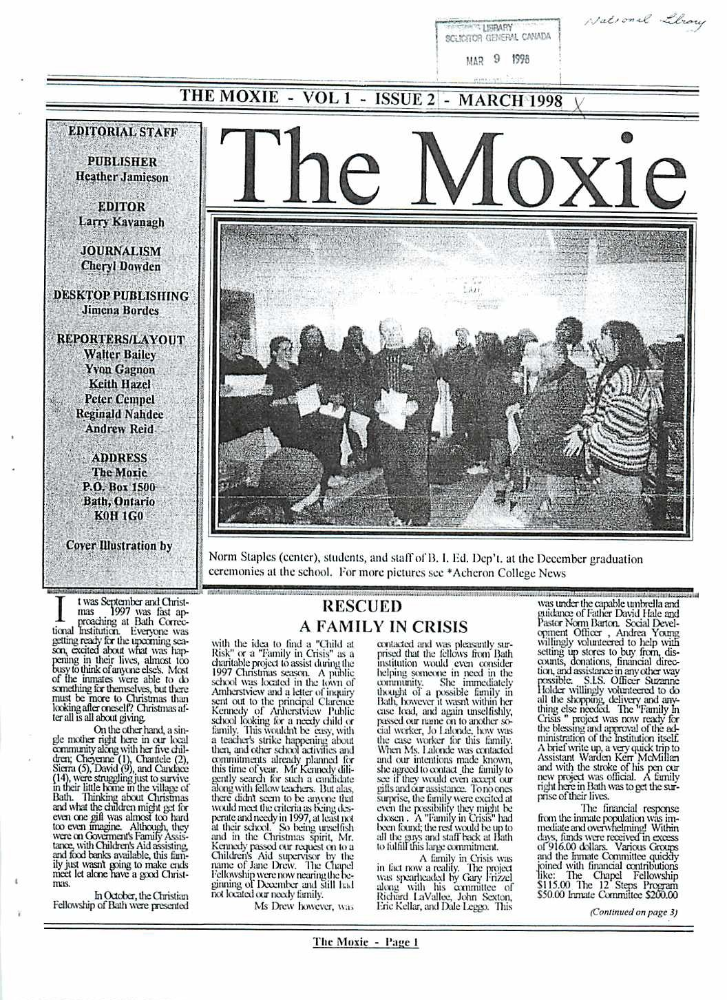 Read more about the article The Moxie v1(2)