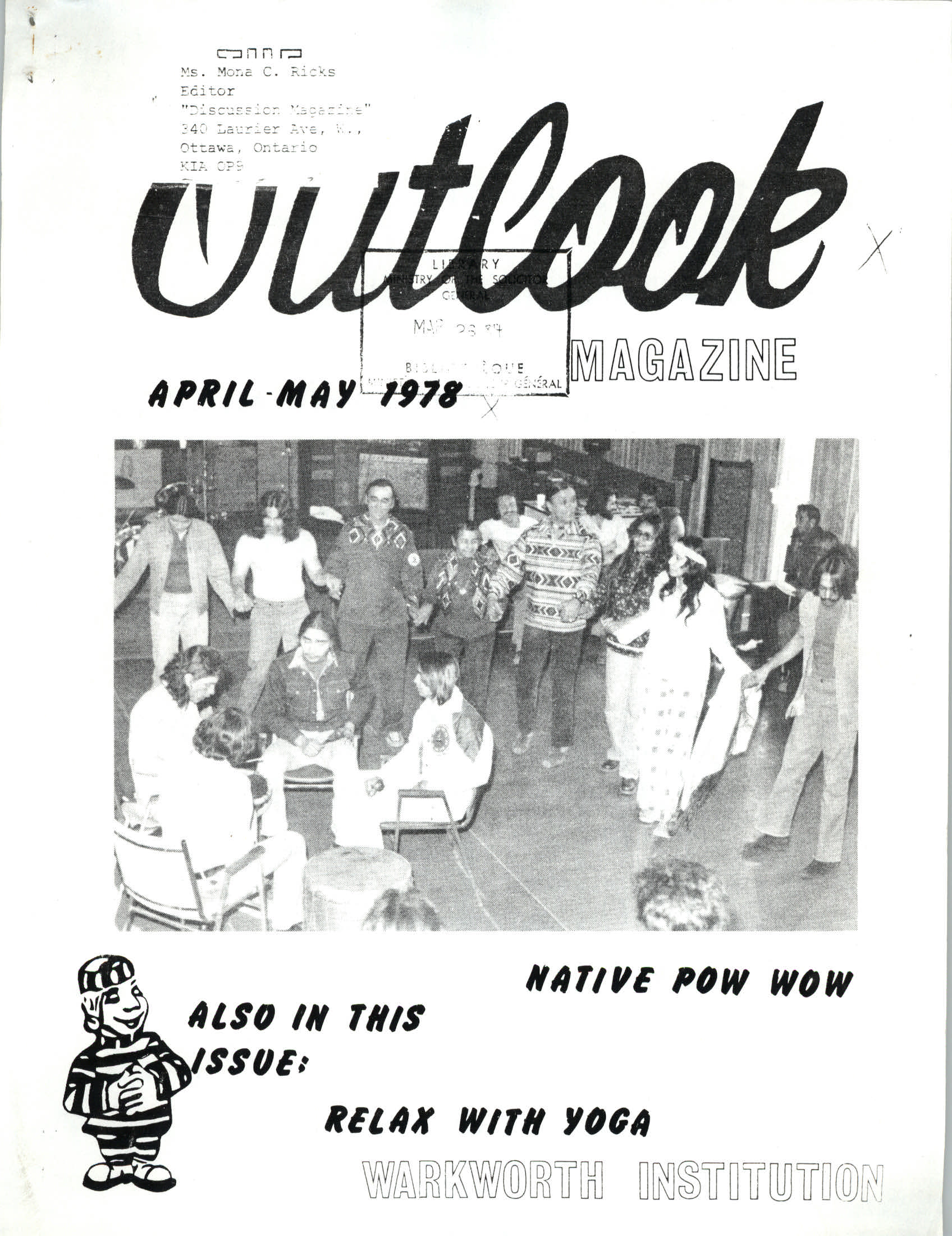 Read more about the article The Outlook – Apr/May 1978