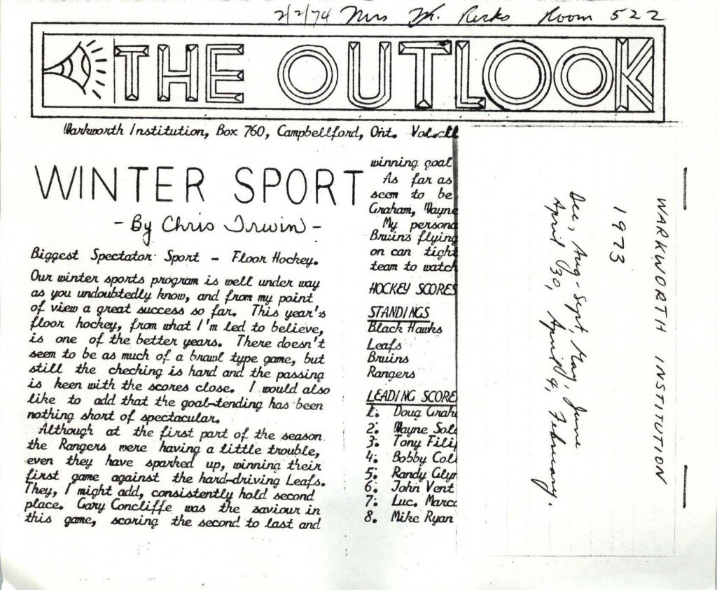 Read more about the article The Outlook – December 1973
