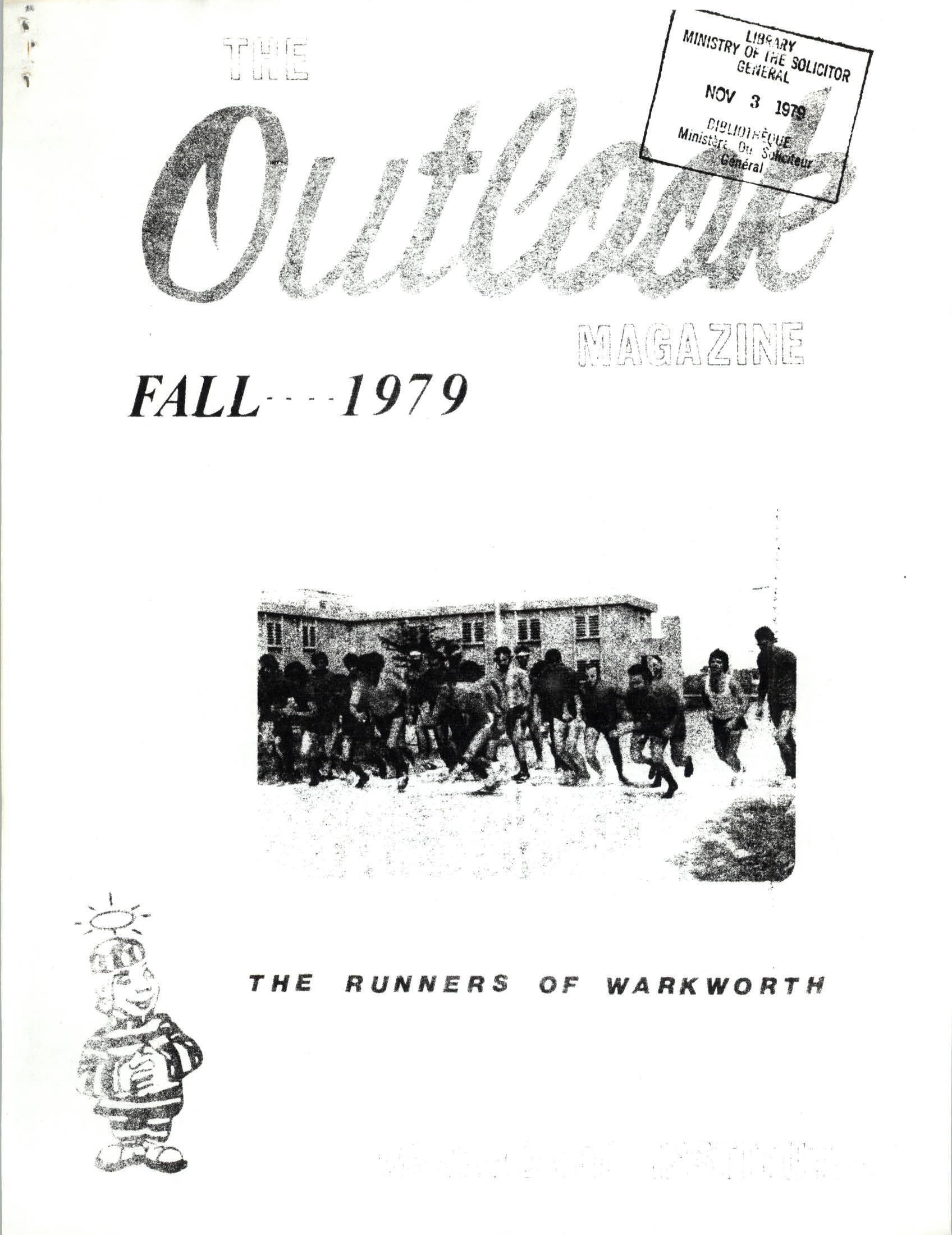 Read more about the article The Outlook – Fall 1979