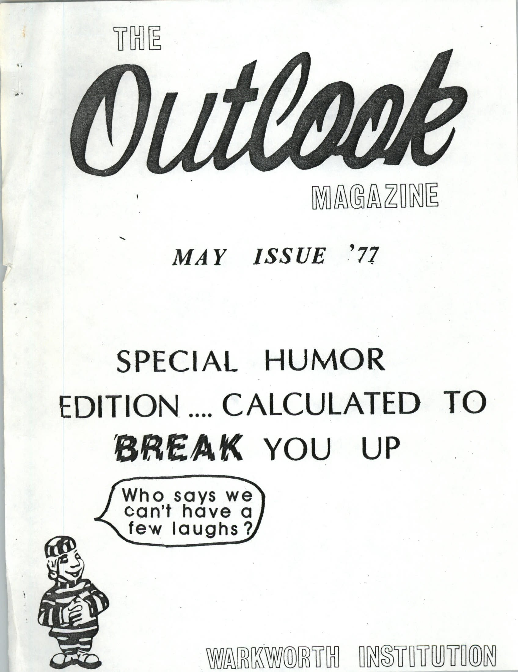 Read more about the article The Outlook – May 1977