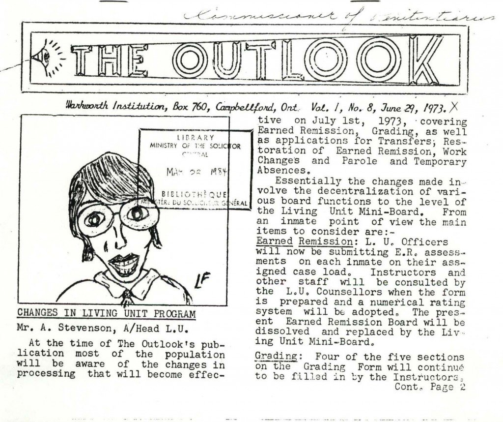 Read more about the article The Outlook – June 1973