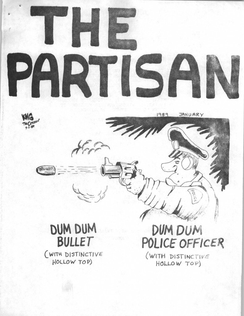 Read more about the article The Partisan – January 1989