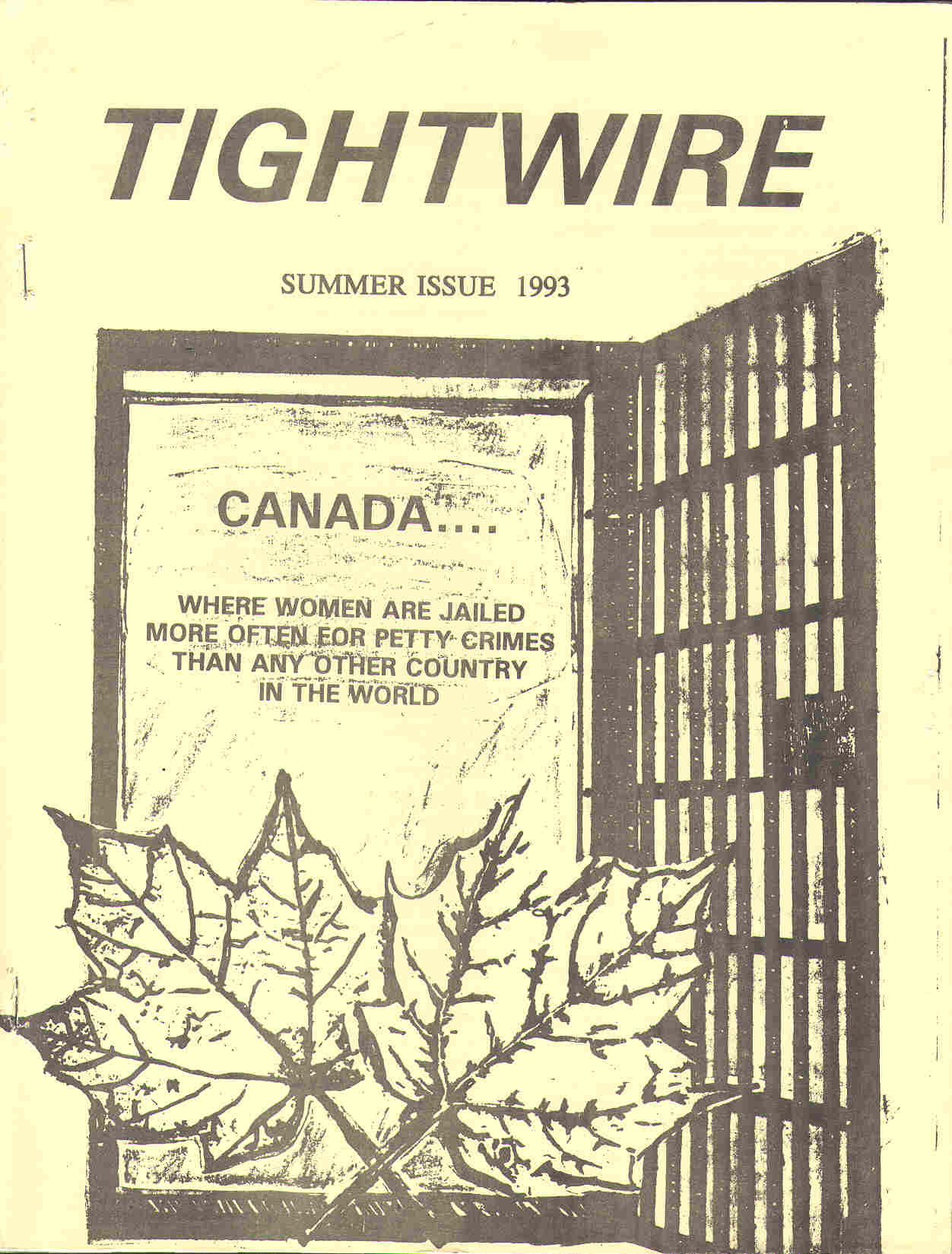 Read more about the article Tightwire – Summer 1993