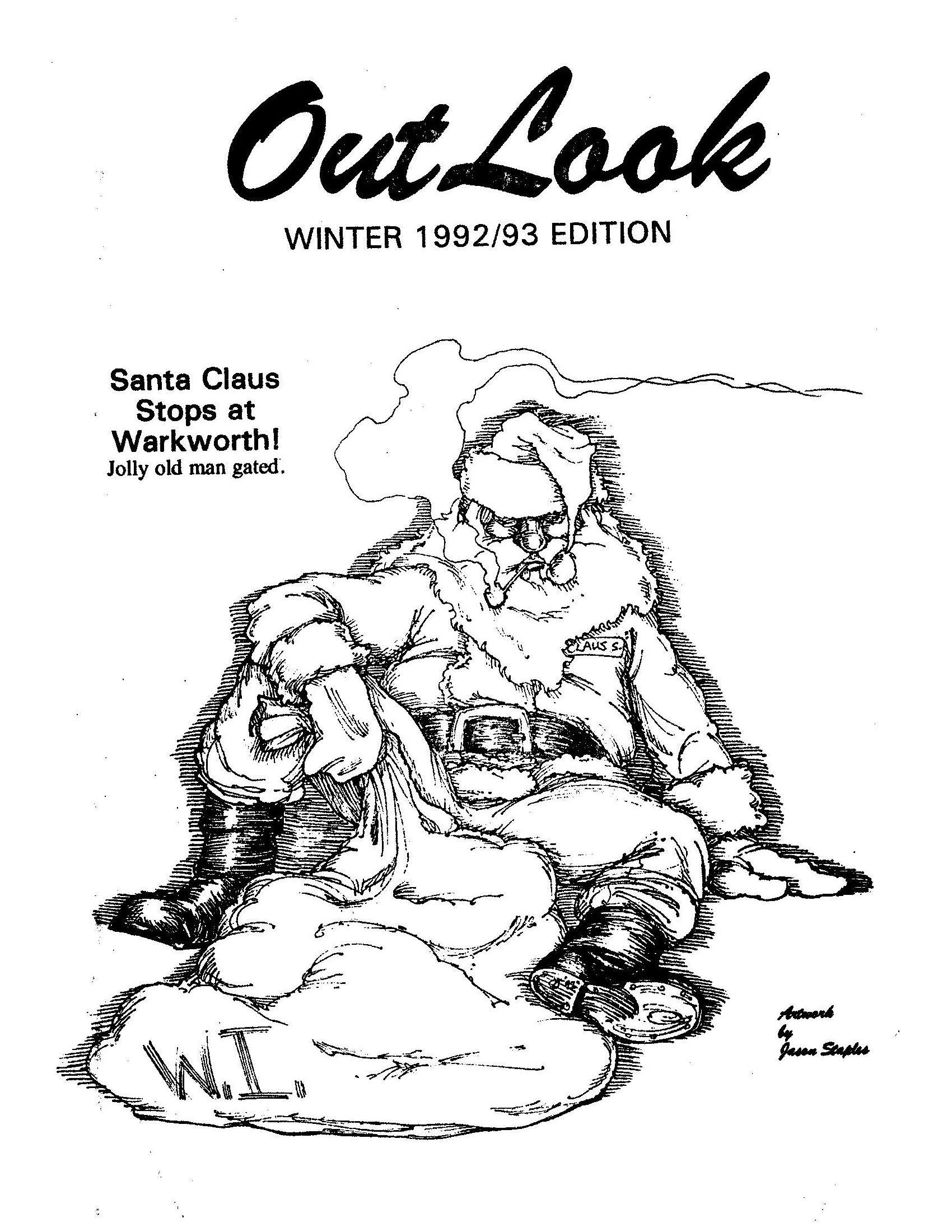 Read more about the article The Outlook – Winter 1992/1993