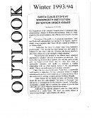Read more about the article The Outlook – Winter 1993/1994