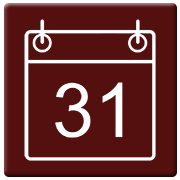Penal Press Date Category red-white icon