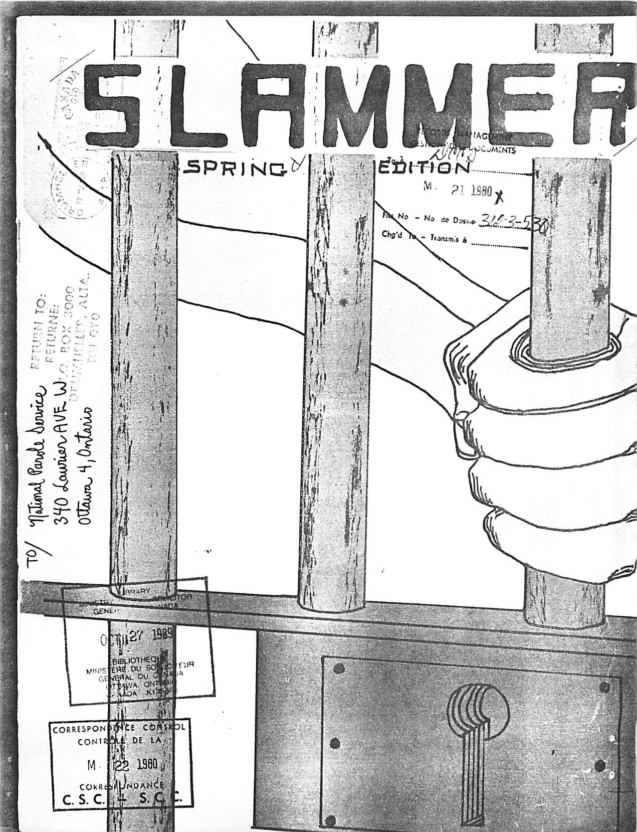 Read more about the article Slammer – Spring 1980